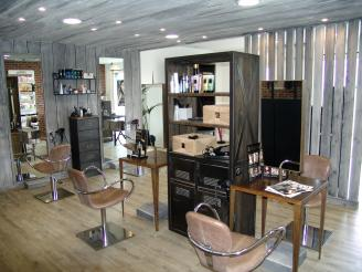 Salon de coiffure deco industrielle - Deco industrielle salon ...